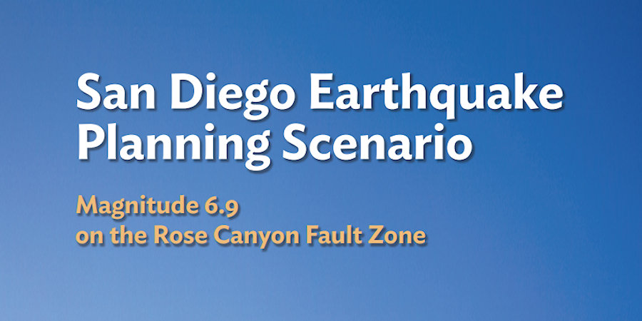 Article Title for San Diego Earthquake Planning Scenario